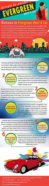 Evergreen Rent A Car provides the the best deal on personal budget car rental and car leasing services in Singapore. Visit us now for car rental at very affordable rates. http://www.evergreenrentacar.com/personal-car-rental.php
