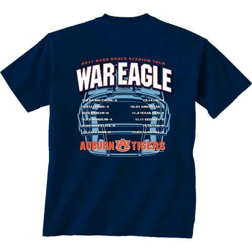 New World Graphics Men's Auburn University Football Schedule '17 T-shirt
