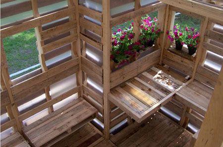 Pallet green house