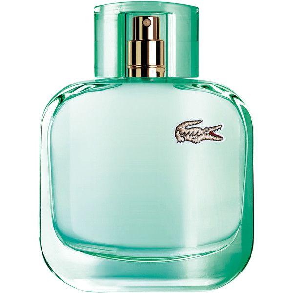 Lacoste Eau de Lacoste L.12.12 pour Elle Natural ($57) ❤ liked on Polyvore featuring beauty products, fragrance, lacoste perfume, lacoste fragrance and lacoste