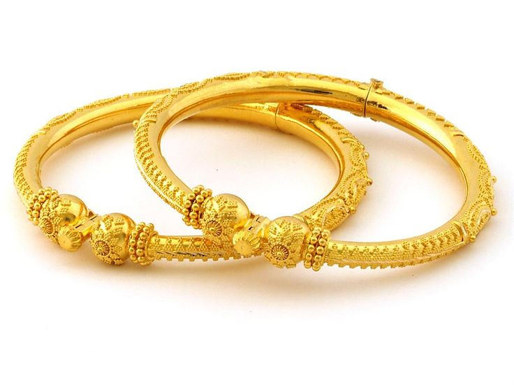 Indian Jewellery and Clothing: 22k gold Bangles