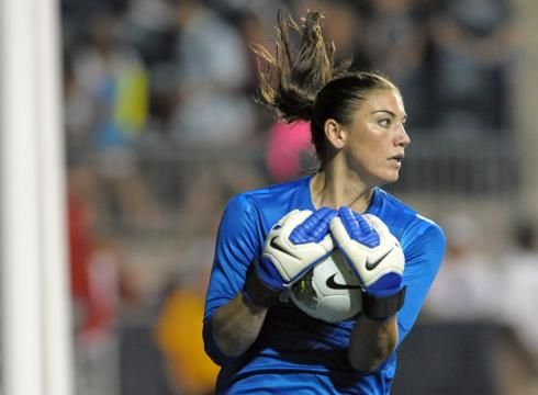 USA starting goalkeeper Hope Solo tested positive for a banned substance found in her pre-menstrual medication and received a warning from the U.S. Anti-Doping Agency (via usatoday.com)