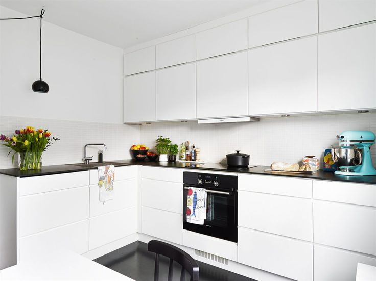 Stilrent och modernt kök