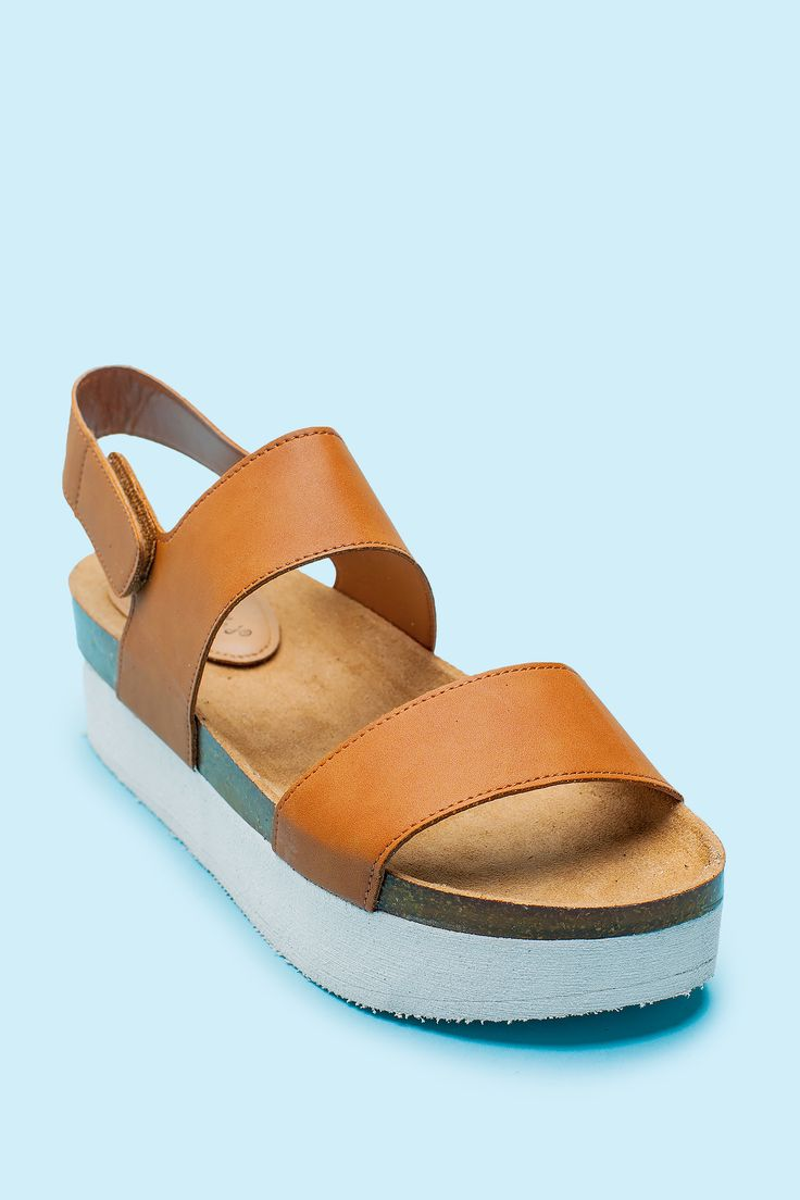 Women's Sandals | Freda-04 Form and Function Flatform Sandal | A'GACI