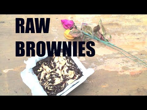 RAW VEGAN PB FUDGE BROWNIES (3 ingredients)