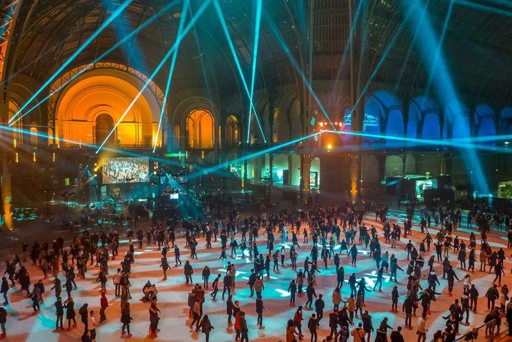 Le grand palais des glaces: une expérience inoubliable pour les fêtes de fin d