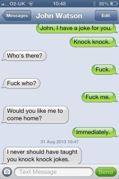 dirty knock knock jokes