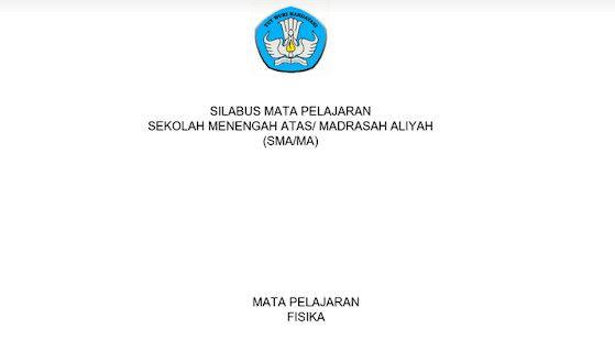 Silabus Fisika Sma Ma Kurikulum 2013 Revisi 2017 Pdf Fisika Kurikulum Buku Ekonomi