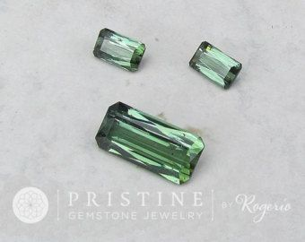Green Tourmaline Set Over 18 Carats for Custom Jewelry Set Pendant and Earrings October Birthstone Loose Gemstone