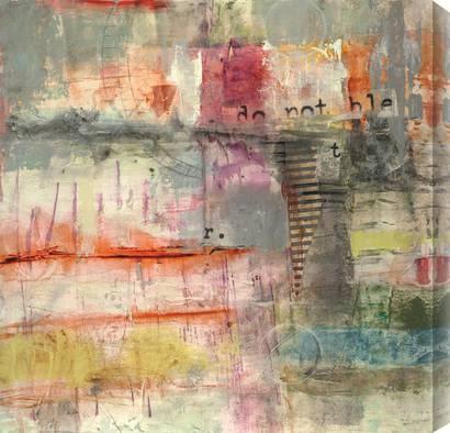 Jane Bellows - Pretensel II #bridge #pink #colors #abstract #art: Pink Color, Color Abstract, Abstract Art, Art Prints, Color Tones, Abstract Canvas, Abstract Paintings, Pretensel Ii, Jane Bellow