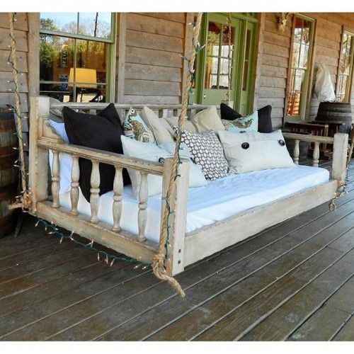 How To Build A Daybed Porch Swing