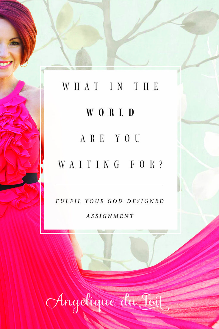 A powerfully inspirational read to create the future you want to live in. #Whywait  #Comingsoon #March2016