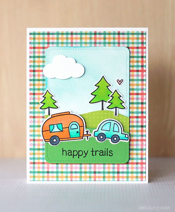 deb duty {photography + scrapbooking}: lawn fawn happy trails