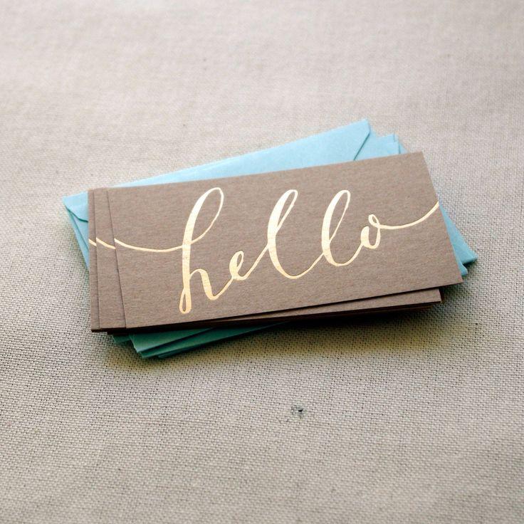 Gold foil business card ideas pinterest foil for Business cards gold foil