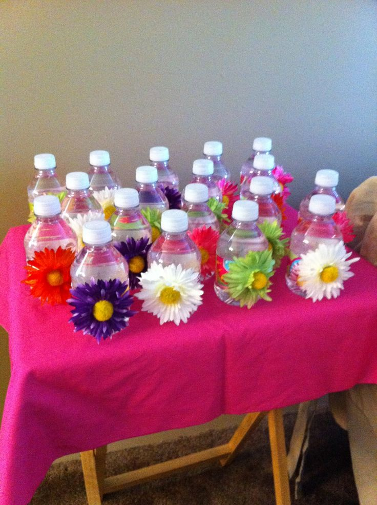 House Warming Favors For A Friend Mini Water Bottles