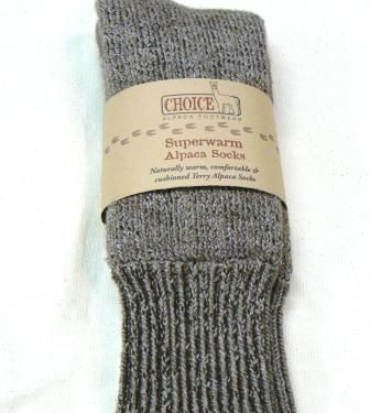 *****Stocking Stuffer | extremely warm alpaca socks with label