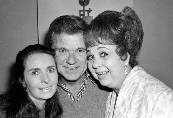 Jackie Cooper poses with fellow former child stars Margaret O'Brien, left, and Jane Withers in 1978