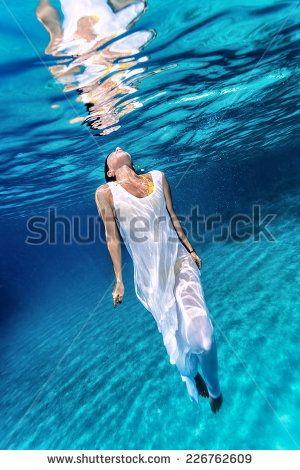 Women In Water Wearing Dress Stock Photos, Images, & Pictures | Shutterstock