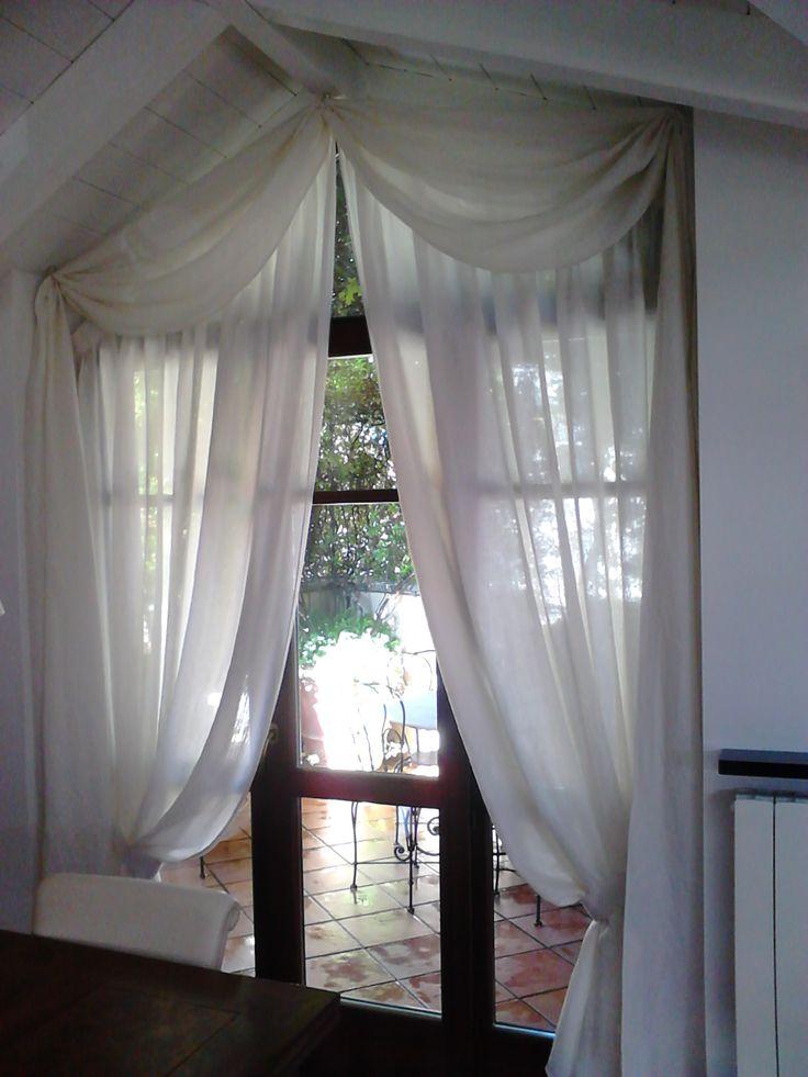 17 migliori idee su parete della finestra su pinterest for Finestre a soffitto