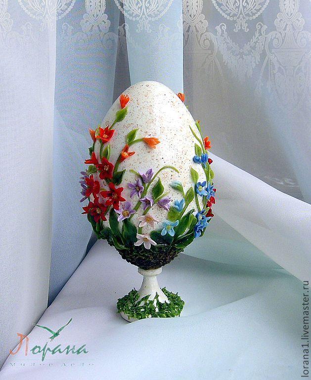 """Пасхальные сувениры. Яйцо """"Весна"""" - Пасха,подарки к праздникам,подарки к пасхе"""