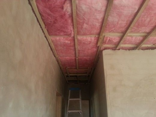 aerolite installed without a ceiling