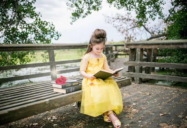 Beauty and the Beast Belle Princess Photo Shoot Picture Idea