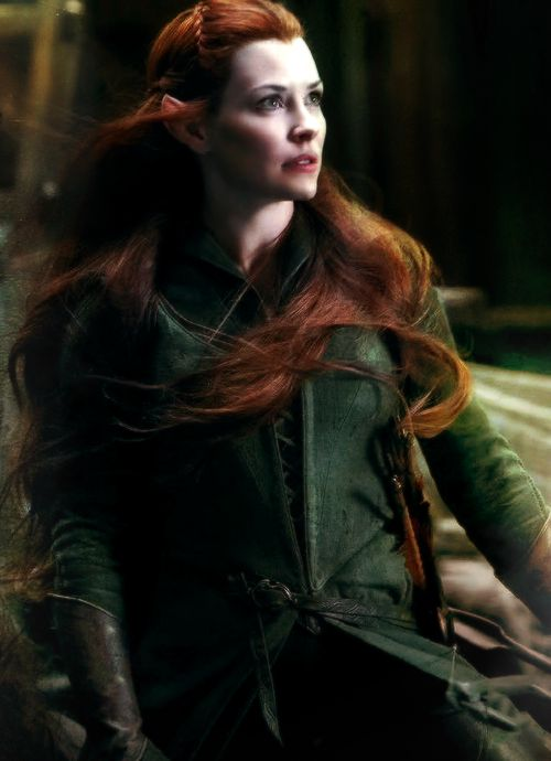 Tauriel had to embody the grace of Galadriel and Arwen, while representing the fighting stealth and power of Legolas and Elrond. -Evangeline Lilly