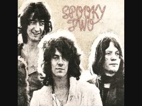 "▶ Spooky Tooth - ""Evil Woman"" [Spooky Tooth was an English hard rock, psychedelic rock band from the late 1960s. Band members in 1969: Mike Harrison - keyboards, vocals/ Gary Wright - organ, vocals/ Luther (Luke) Grosvenor - guitar, vocals/ Andy Leigh - bass, vocals/ Mike Kellie - drums ~ After Spooky Tooth's split in 1974, Wright continued his solo career, culminating in ""Dream Weaver.""] `j"