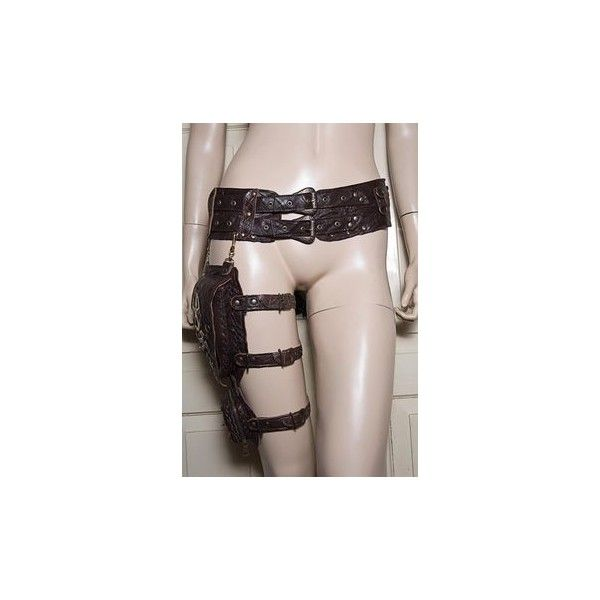 Items similar to White Leather Wrapping Top, Reversible, Detaching... via Polyvore featuring tops, leather tops, white wrap top, white top, white leather top and wrap top
