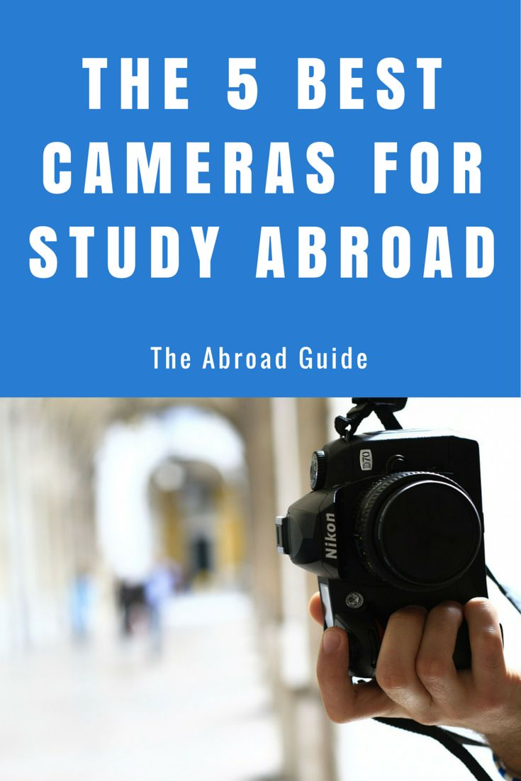 These 5 cameras are the best to take along with you on your study abroad experience. They're also perfect for any type of travel!