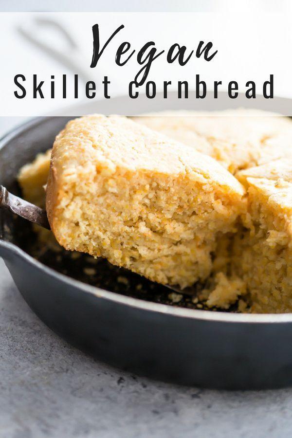 Vegan Cornbread Recipe Vegan Cornbread Corn Bread Recipe Vegan Party Food