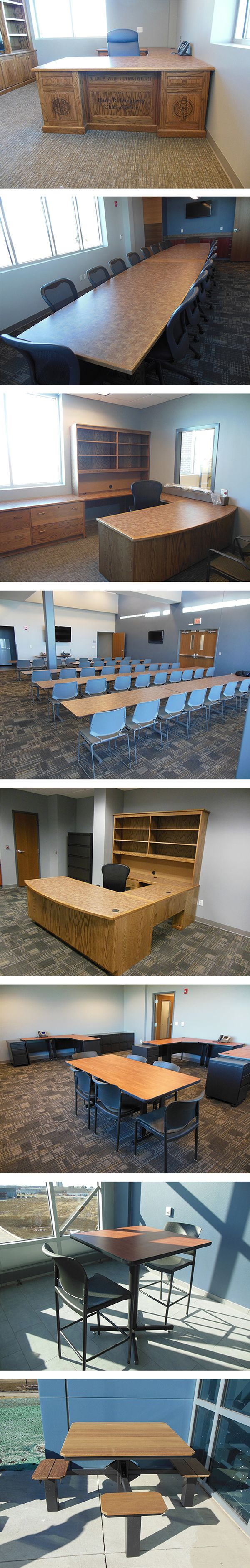 Iowa Prison Industries custom furnishing project: Marion Police Department