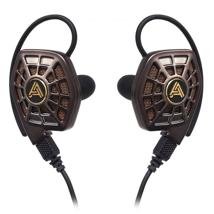 Audeze iSINE20 In Ear, Semi Open Headphone (Bronze)
