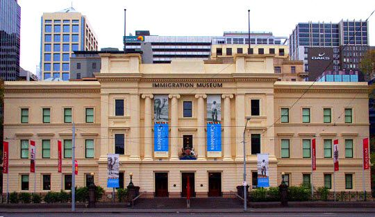 Immigration Museum in Melbourne