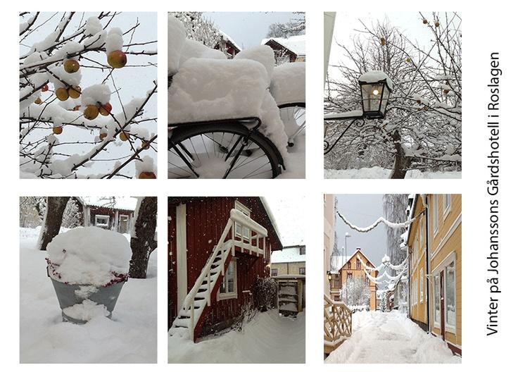 Winter at Johanssons Gårdshotell
