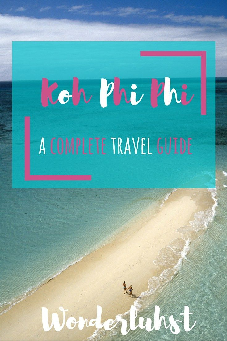 Koh Phi Phi is on almost everyone's bucket list when it comes to traveling in Thailand. Maya Bay, Monkey Beach, dozens of long tail boats are just a few of the things that can be seen on this island. Don't miss out on anything! By http://wonderluhst.net
