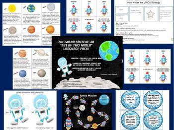 solar system graphic organizer - photo #43