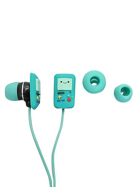 Adventure Time Beemo Earbuds #Geek