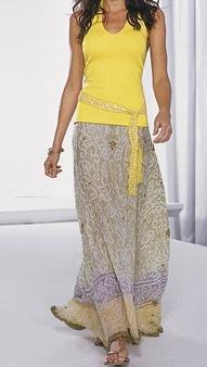 match it!!!! lovely long skirt