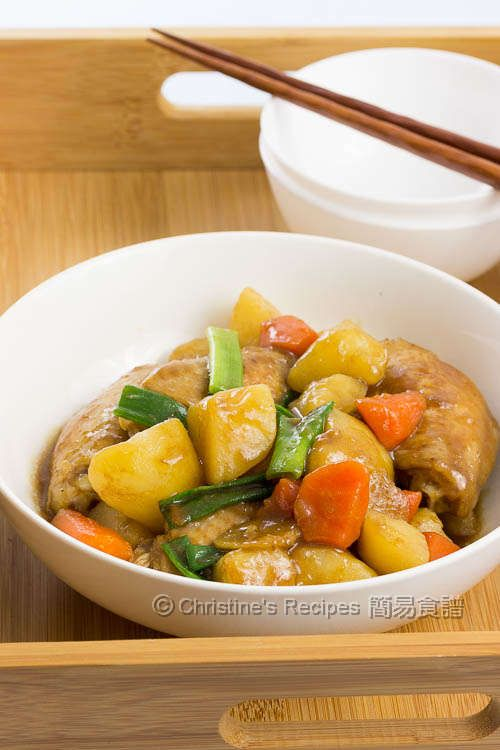 Braised Chicken Wings with Potatoes01