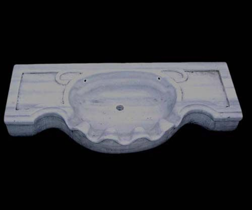 Old Italian Carrara marble bathroom sink,we have also other shape,please visit us here : www.luxurystyle.es