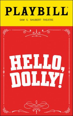 Hello, Dolly! Playbill - Opening Night