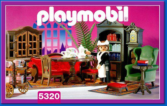 Playmobil salons and search on pinterest for Playmobil living room 4282