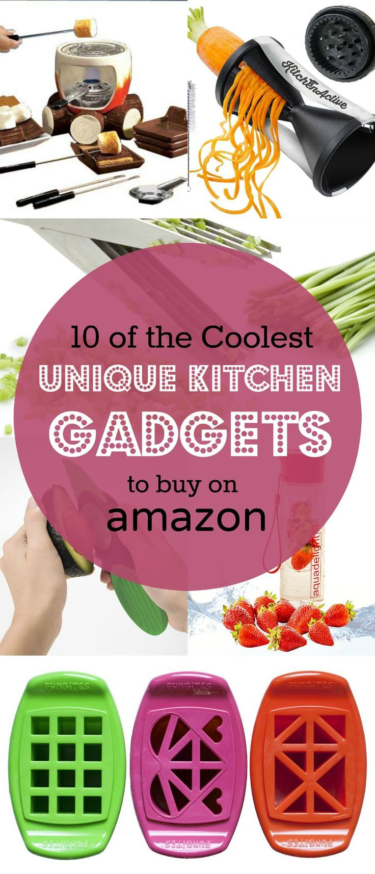 10 of the Coolest Unique Kitchen Gadgets, Appliances and Cookware to buy on Amazon :: These are awesome!