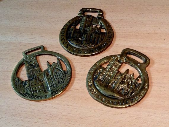 Three Choirs Cathedrals horse brasses by MerryLegsandTiptoes