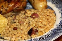 Southern Style Lady Cream Peas (look for Camellia peas or can order)