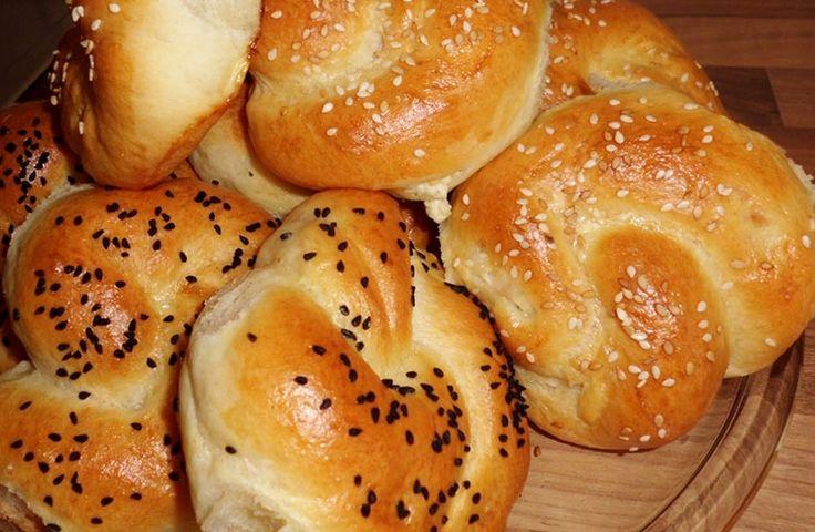 Sallys Blog - Türkisch: Acma (Brötchen mit/ohne Füllung)