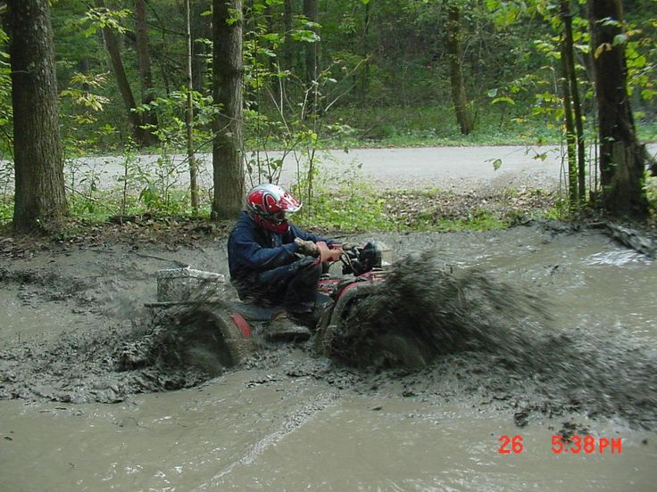 As a hobbie my brothers and I ride four wheelers when we have time.