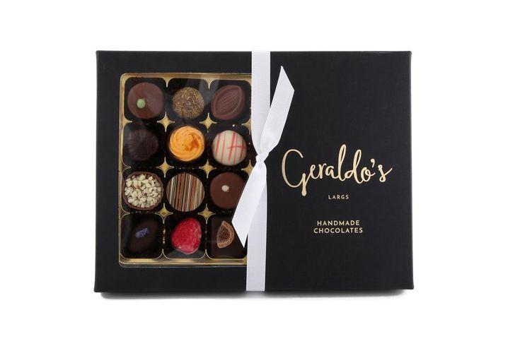 Deluxe Gift Box of Handmade Chocolates