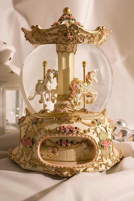 carousel globe